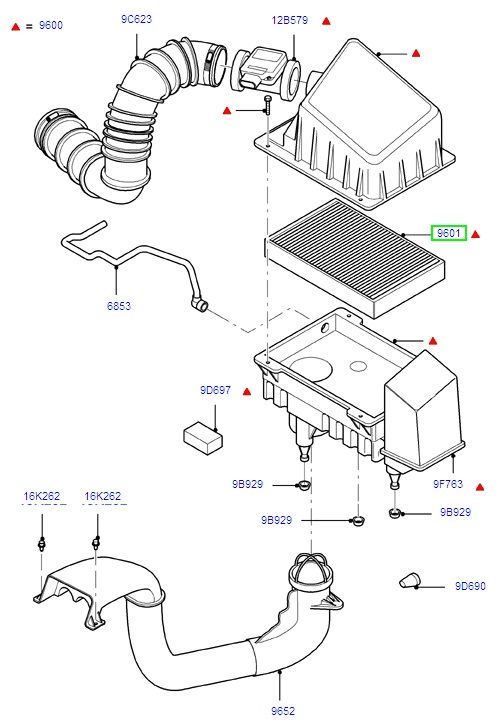 ford focus parts diagram uk