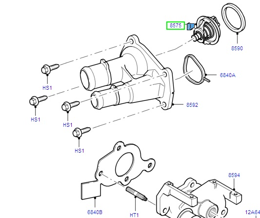 Thermostat Assembly 82C