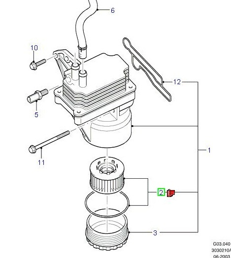 ford transit oil filter  2000  -   1349745 r  by 1088179  -  u00a312 29