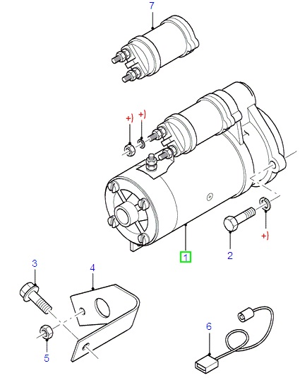 Ford starter motor diagram wiring diagrams schematics buy starter motors parts in uxbridge london tomo motorparts ford fiesta diesel starter motor 1 8kw 1995 2002 at ford transit mk6 starter motor wiring asfbconference2016 Images