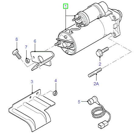 Ford Fiesta Starter Motor Diagram