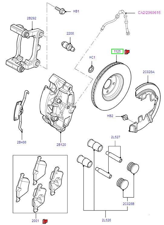 ford mondeo brake disc 2007 1500159 tomo motorparts. Black Bedroom Furniture Sets. Home Design Ideas