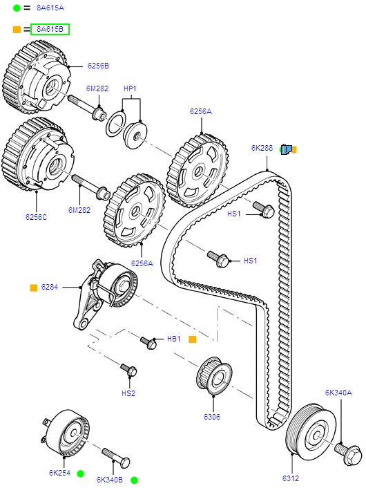 Electrical Fuse Box Replacement likewise 2001 Ford Focus Timing Belt Diagram further T9155376 Need timing marks 1997 furthermore 2003 Dodge Thermostat Replacement furthermore 2004 Ford Taurus Serpentine Belt Diagram. on ford 5 4 timing tool