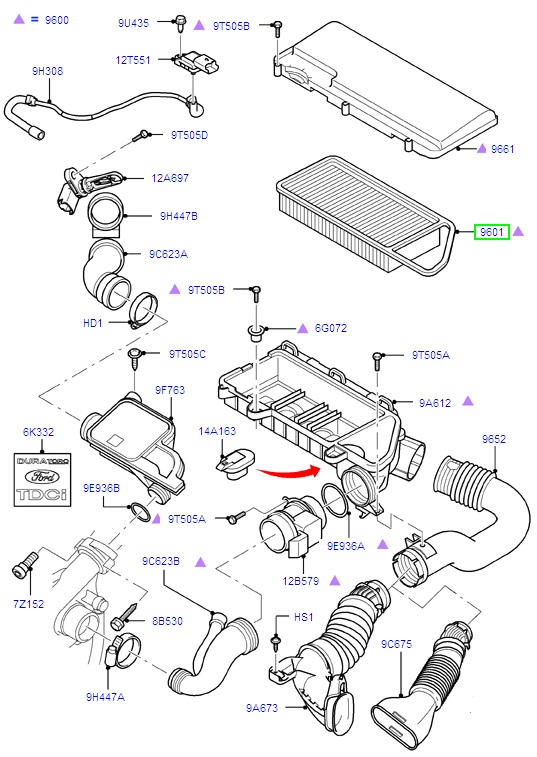 2011 ford fiesta engine diagram
