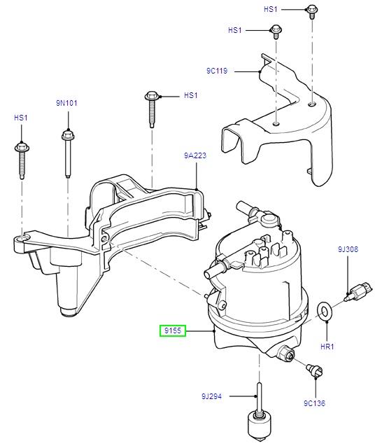 fuel filter  1677302  -  u00a355 20