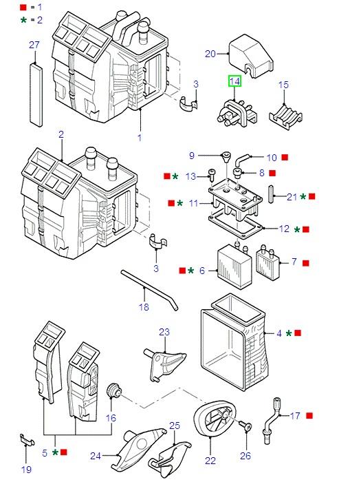 heater valve  1714716  -  u00a375 31