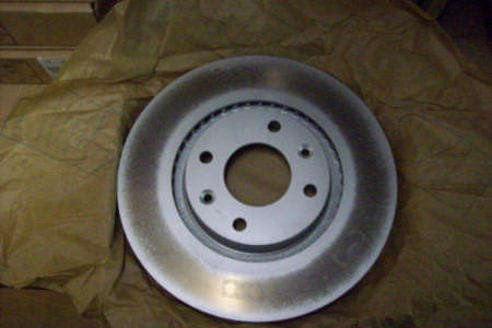 Peugeot 307 1.6D Front Brake Disc, Single, Bosch, Dia 283 1998/-