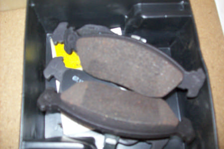 Peugeot 206, 1.9D, Front Brake Pads, Bosch Calipers 1998/-