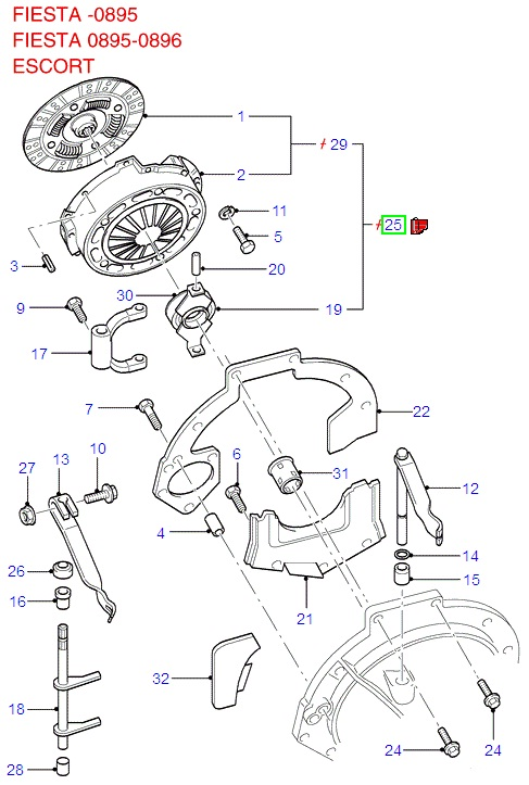 Clutch Kit (Exchange)