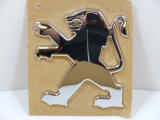 Peugeot 206 Badge - Rear Lion - Not On Handle 1998/2005