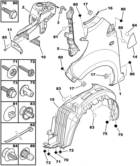 grilles   buy ford parts  fiat parts  alfa parts  citroen parts and peugeot parts online in