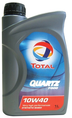 TOTAL Quartz 7000 Engine Oil 10W/40 1 Litre