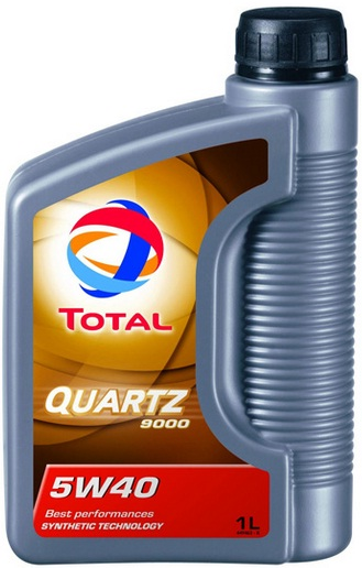 TOTAL Quartz 9000 5W40 Engine Oil 1 Litre