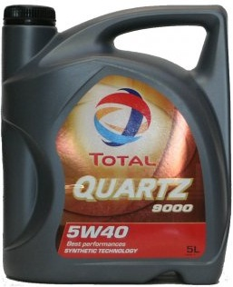 TOTAL Quartz 9000 5W40 Engine Oil 5 Litres