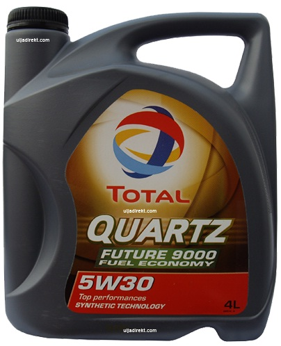 TOTAL Quartz Future 9000 Engine Oil 5W/30 5 Litres